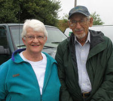 Sanford and Bertha Kelley, wild Maine blueberry growers