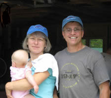 Susan and David Jordan, wild Maine blueberry growers